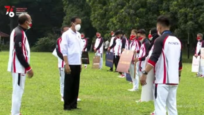 Jokowi Berikan Bonus ke Atlet Olimpiade Tokyo