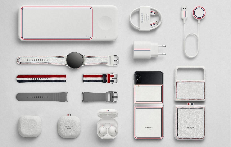 Kolaborasi Samsung dengan Thom Browne