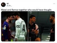 Meme Messi Ramos