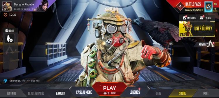 Preview Apex Legends Mobile, Gameplay Seru dengan Kualitas Grafik Memukau