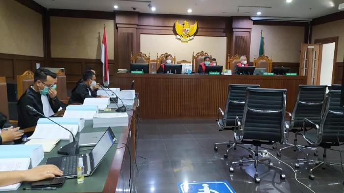 Sidang kasus korupsi bansos terdakwa Matheus Joko Santoso