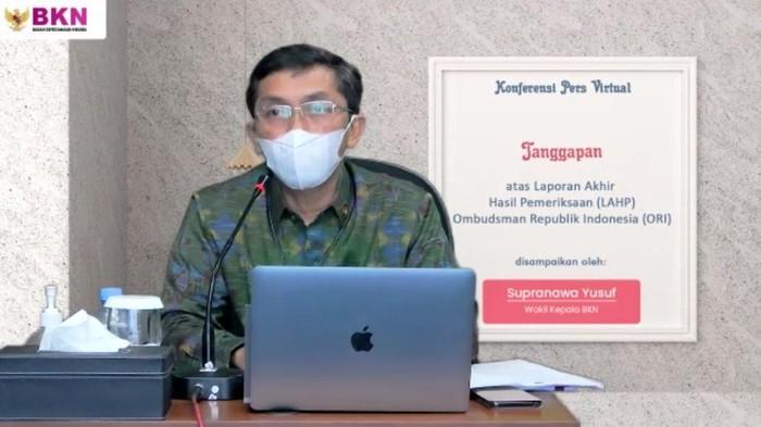 Wakil Ketua BKN Supranawa Yusuf