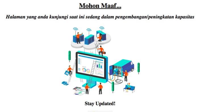 Website BPJS Ketenagakerjaan down