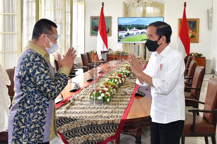 Bamsoet dan Jokowi