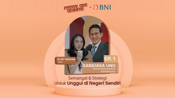 Putri Tanjung x Sandiaga Uno