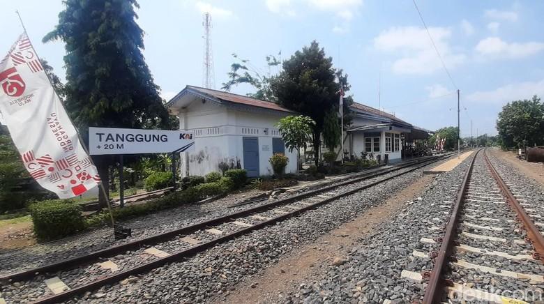 Stasiun Tanggung, Grobogan, Sabtu (14/8/2021).