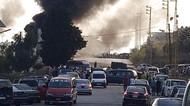 Kebakaran Hebat Tangki Kilang Minyak di Lebanon
