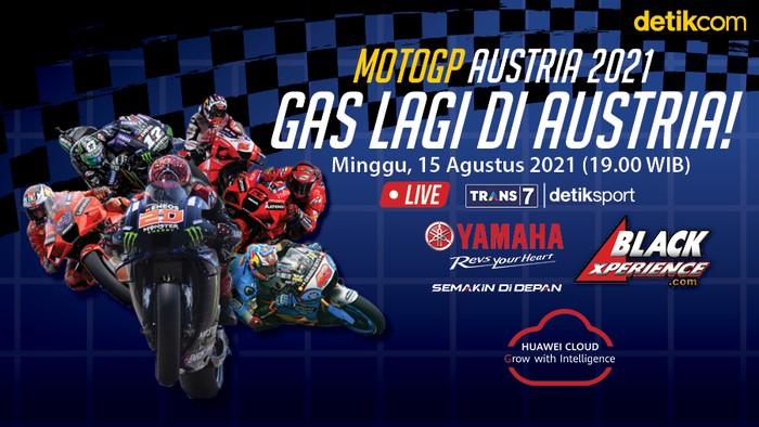 Infografis MotoGP Austria 2021
