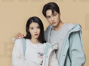 Kai EXO dan IU Foto Bareng Bukan Edit, Bikin Penggemar Histeris