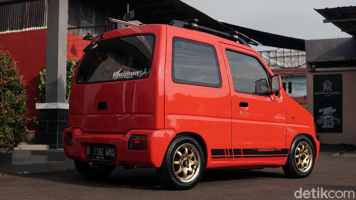 Suzuki Karimun 2001 Modifikasi Studio Motor