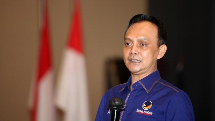 Ketua Bidang Hubungan Legislatif DPP NasDem Atang Irawan.