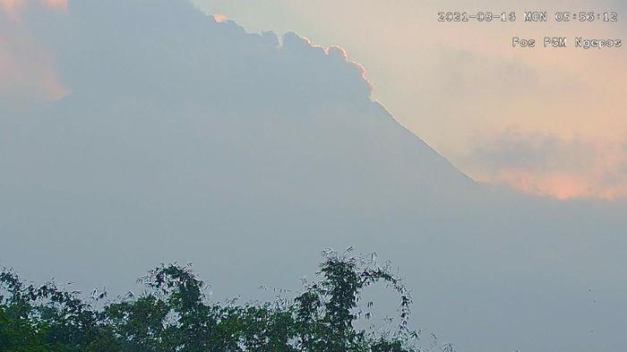 Gunung Merapi erupsi,16/8/2021