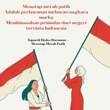 Ilustrasi puisi kemerdekaan
