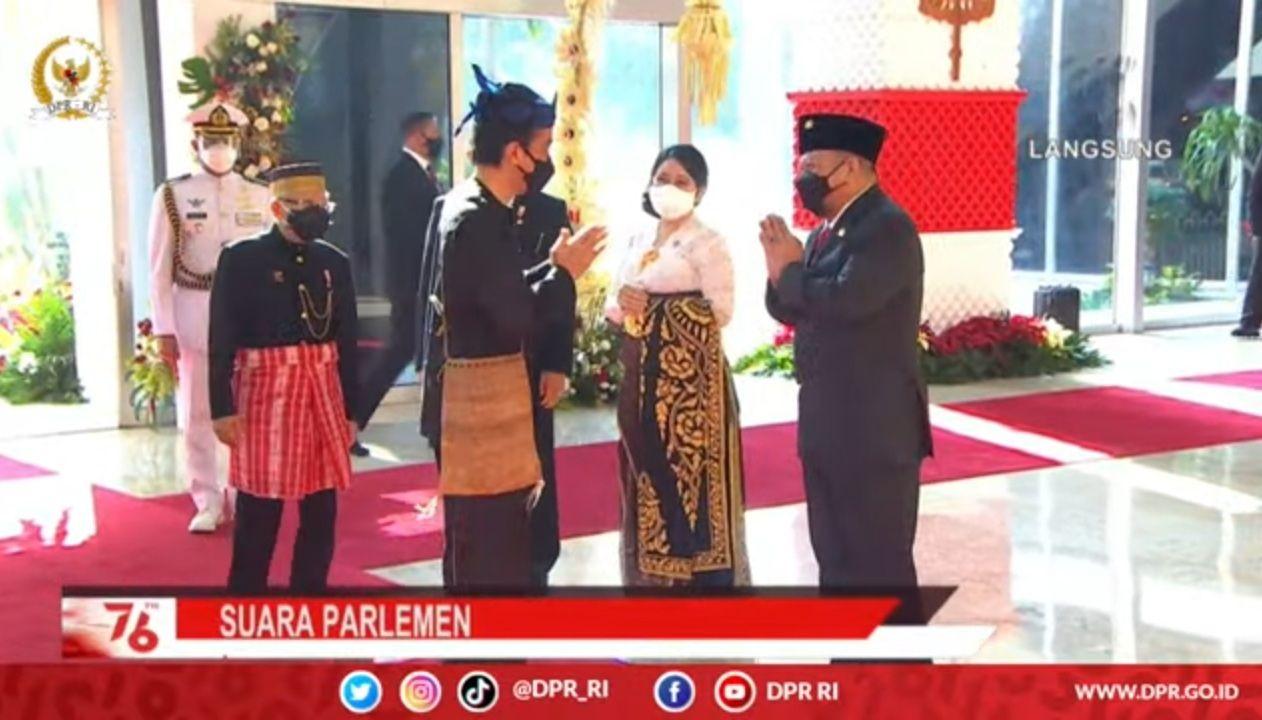 Jokowi Tiba di Sidang Tahunan MPR