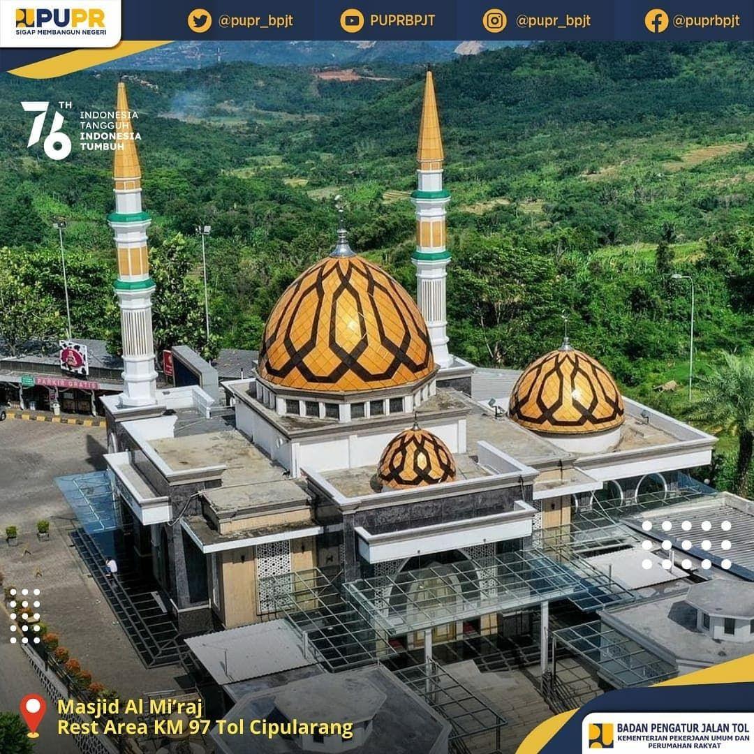 Masjid Unik di Rest Area Tol