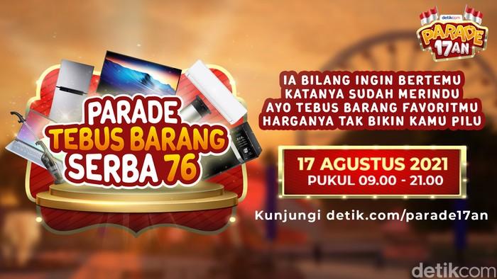 Parade Tebus Barang Serba 76