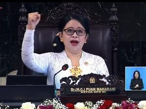 Gaya Puan Maharani dan Krisdayanti Berkebaya Nusantara di Sidang Tahunan MPR