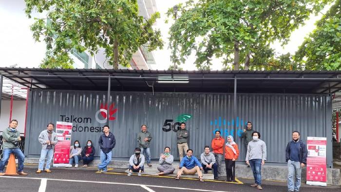 Telkom tawarkan layanan use cas lab 5G kepada para pelaku startup.