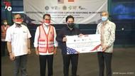 Kabar Baik! Bantuan 150 Ventilator dari New York AS Tiba di Indonesia