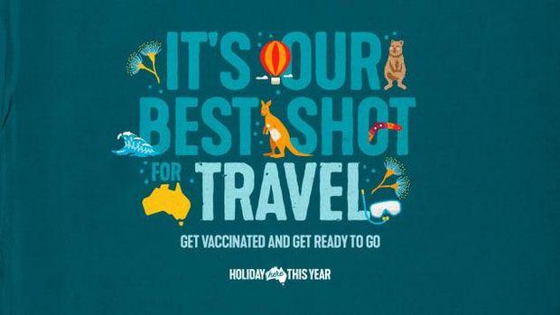 Kampanye vaksin Australia