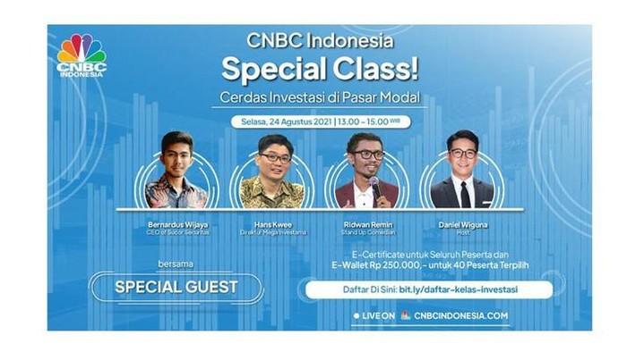 Kelas investasi CNBC Indonesia