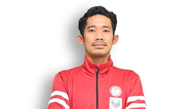 Atlet paracycling M. Fadli.
