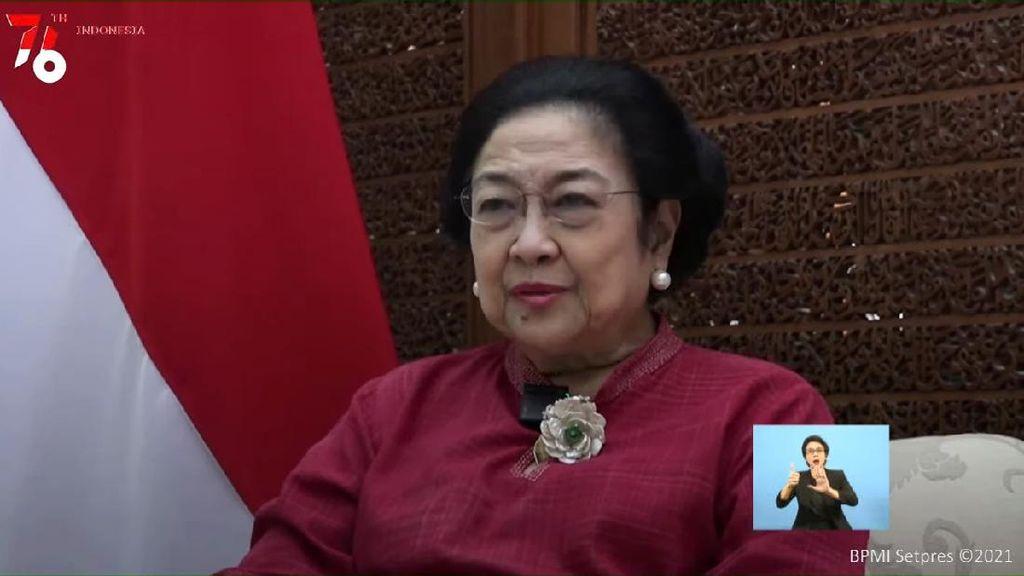Benang Merah Pesan di Hari Kemerdekaan dari SBY-Mega