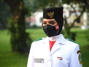 Profil Ardelia Muthia Zahwa, Remaja Medan Pembawa Baki Bendera Merah Putih