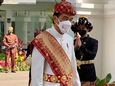 Mengenal Baju Adat Lampung yang Dipakai Jokowi di Upacara HUT ke-76 RI