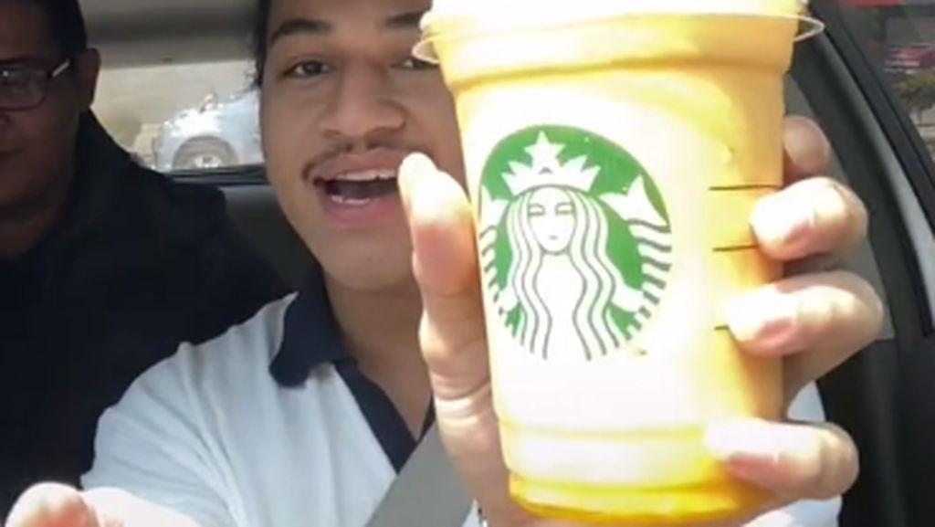 Netizen Ini Pesan Kopi Menu Bahagia di Gerai Starbucks, Begini Rasanya