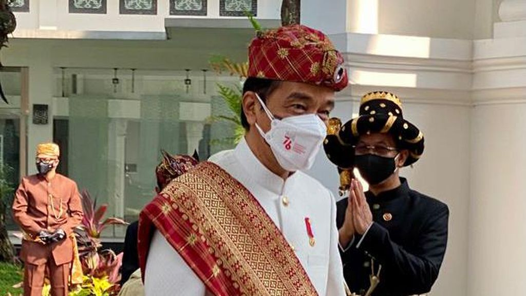Jokowi Pakai Baju Adat Lampung di HUT ke-76 RI, Ini Detail dan Maknanya