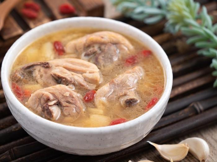 Resep Sup Ayam Bawang Taiwan