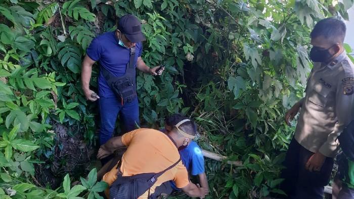 Seorang pria hilang 3 hari secara misterius di Kota Manado. Korban ditemukan dalam kondisi tak sadar di dalam gua peninggalan Jepang. (dok Istimewa)