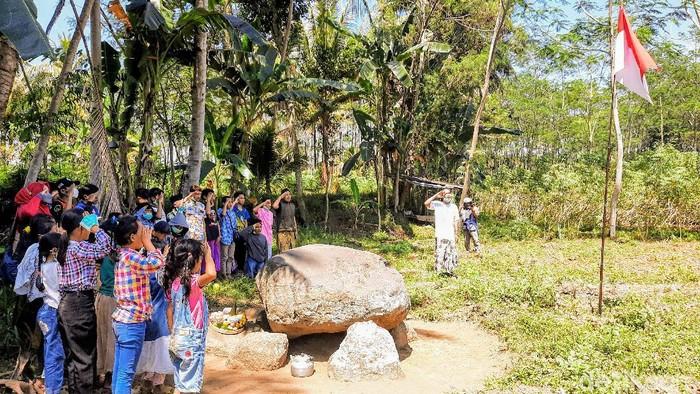 upacara hut ri di bondowoso