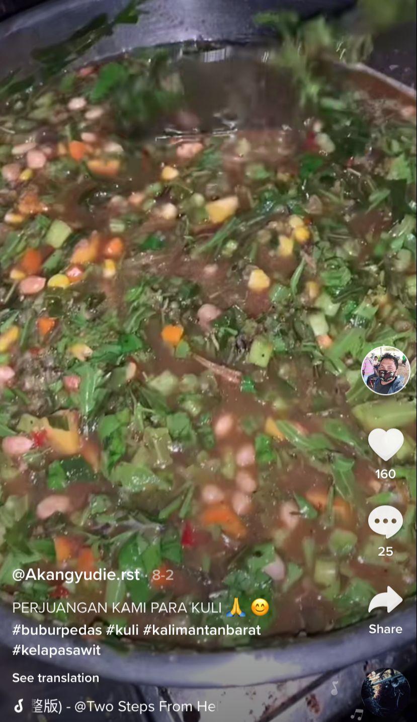Viral Kuli Kebun Sawit Hobi Masak Menu Sederhana yang Sedap