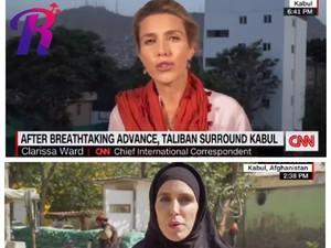 Viral Gaya Reporter CNN Tanpa Hijab dan Berhijab Saat Liputan Soal Taliban
