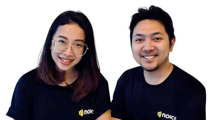 Platform konten audio lokal terkemuka di Indonesia, Noice resmi menggandeng dua veteran Google, Rado Ardian dan Niken Sasmaya sebagai Chief Executive Officer (CEO) dan Chief Business Officer (CBO).