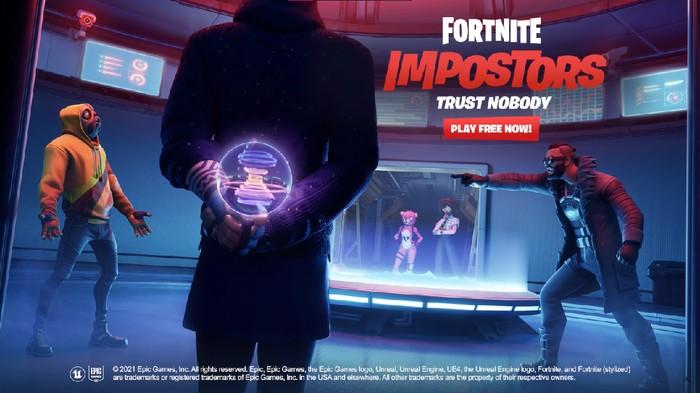 Fortnite Hadirkan Mode Impostor Layaknya Among Us. Udah Coba?