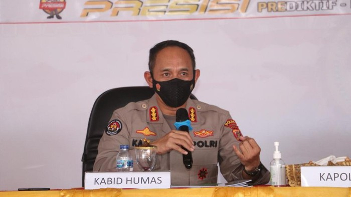 Kasatgas Humas Ops Nemangkawi, AKBP Ahmad Musthofa Kamal (Wilpret-detikcom)