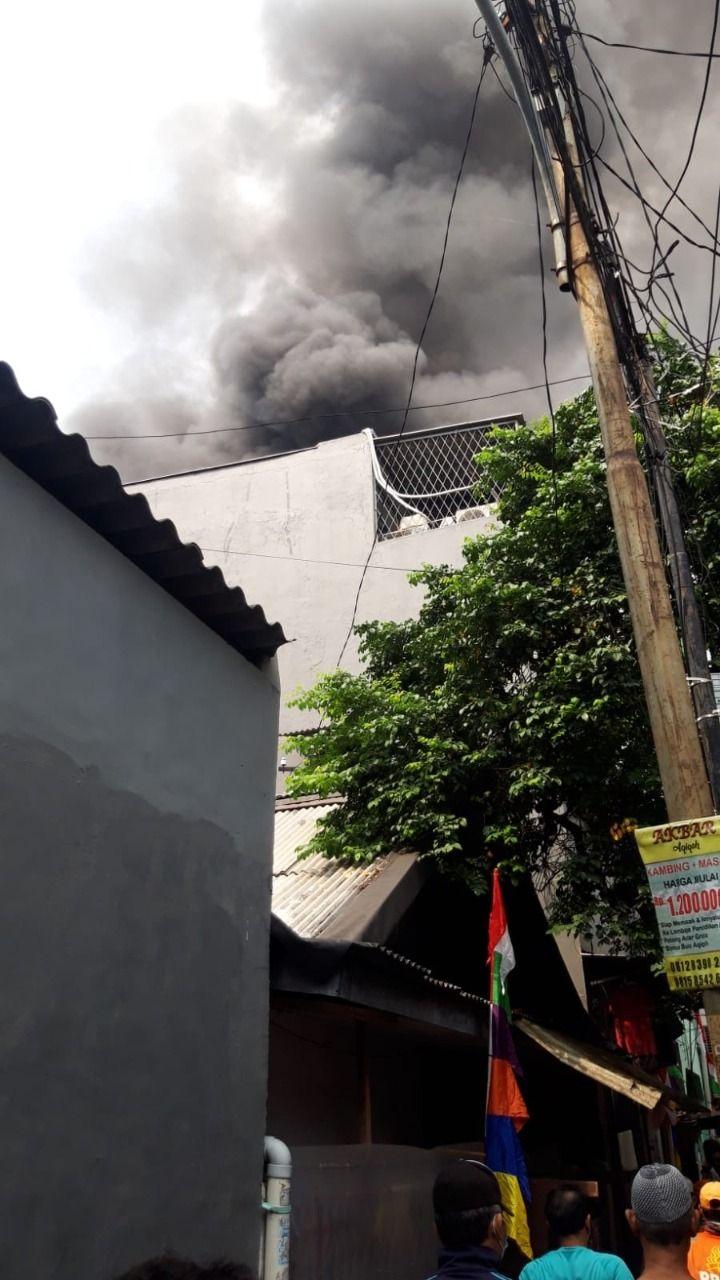 Kebakaran di Tambora, Jakarta Barat (dok. Istimewa)