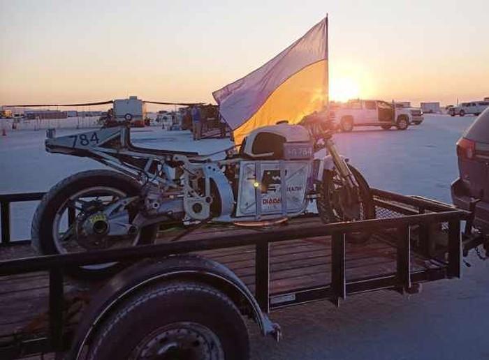 Motor listrik tercepat Delfast Dnepr