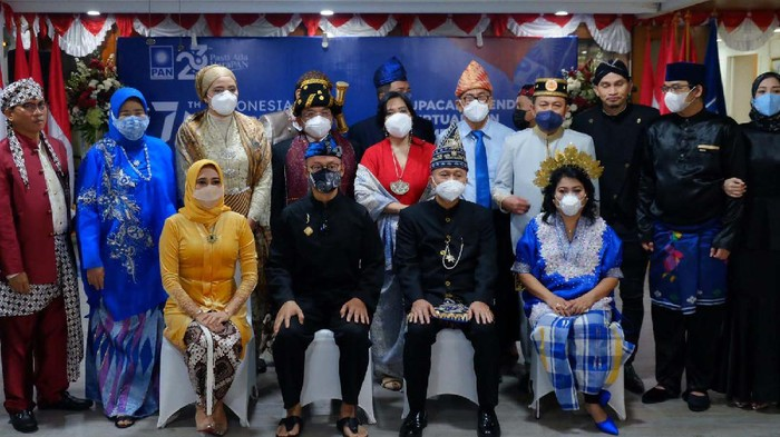 Memperingati HUT Indonesia ke-76, PAN gelar upacara secara virtual. Kegiatan ini diselenggarakan serentak bersama seluruh kader se-Indonesia.