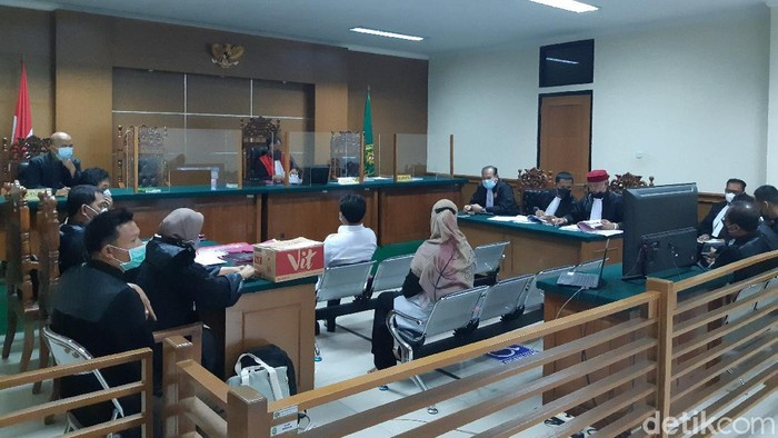 Sidang Korupsi Masker di Banten