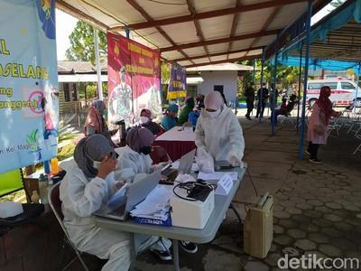 Foto: Asyiknya Vaksin Sambil Wisata di Taman Kyai Langgeng Magelang