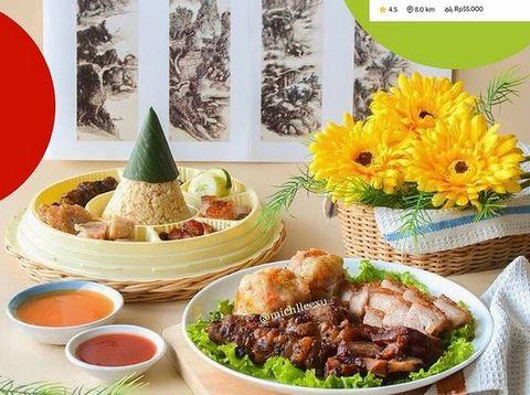5 Rekomendasi Nasi Campur Non Halal dengan Campuran Babi Panggang