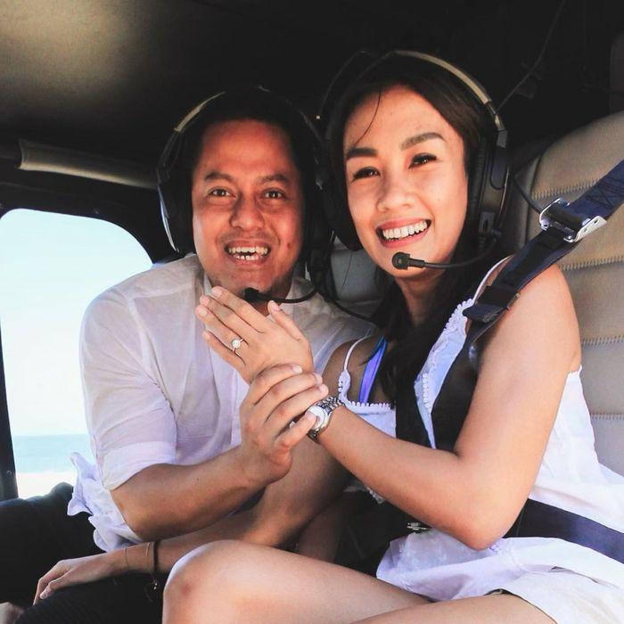 Intip Hobi Masak Melanie Putria yang Baru Saja Dilamar di Helikopter