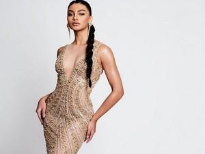 Jihane Almira Memesona Bergaun Kristal di Penjurian Miss Supranational 2021