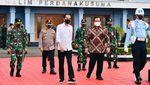 Jokowi Naik Pesawat Kepresidenan yang Dicat Merah, Ini Wujudnya