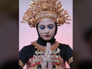 Viral Video Wanita Ungkap Kondisi Menyedihkan Indonesia di Hari Kemerdekaan