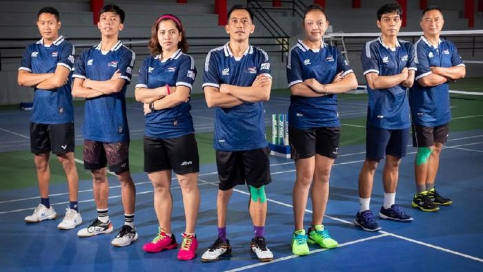 Tim Parabadminton Indonesia yang akan berlaga di Paralimpiade Tokyo 2020.